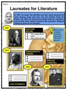 ernest hemingway biography worksheet ernest hemingway facts worksheets books biography for kids