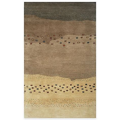 rugs bed bath and beyond mojave area rugs in beige brown bed bath beyond