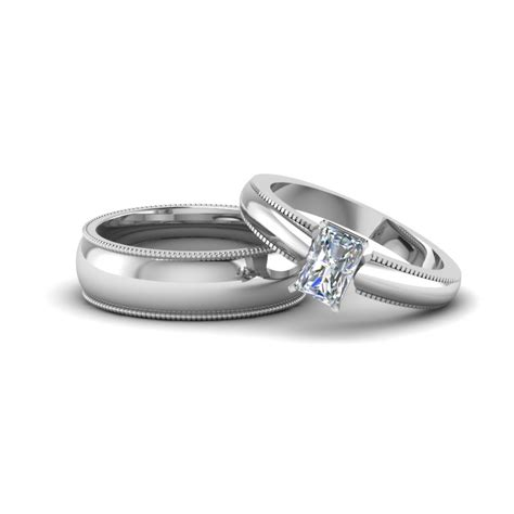 White Gold Wedding Bands For Him And by Matching Wedding Bands For Him And Fascinating Diamonds