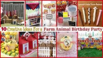 Outdoor Thanksgiving Decorations Farm Animal Birthday Party 10 Creative Ideas Moms