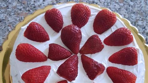 torta con panna da cucina torta morbida con panna e fragole ricette bimby