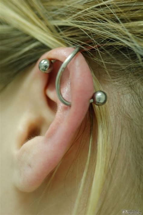 best 25 bar ear piercing ideas on industrial