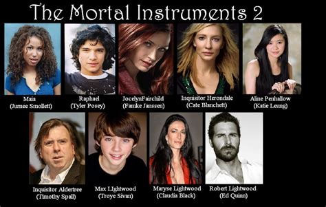 the mortal instruments 1 1406381322 the mortal instruments cast 2 by katerlin on
