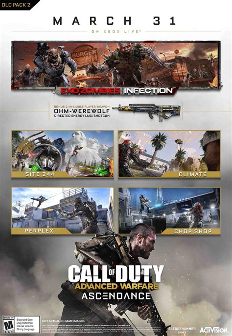 Call Of Duty 31 call of duty advanced warfare ascendance arrives on march