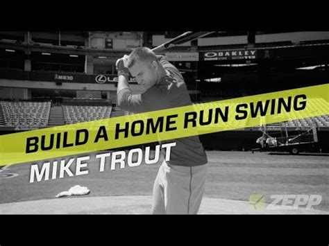 swing labs mike trout analyzes his home run swing with zepp labs