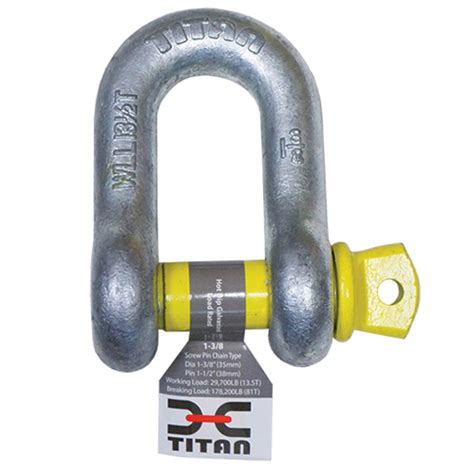 headboard shackle titan galvanized d shackles for chain west marine