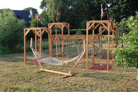 Schaukelgestelle Für Den Garten 57 kletter und schaukelgestell moorwindhof h 228 ngematten