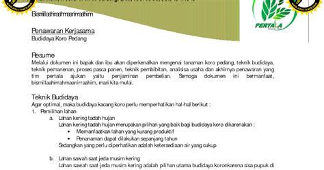 contoh surat penawaran negosiasi books of jomblo