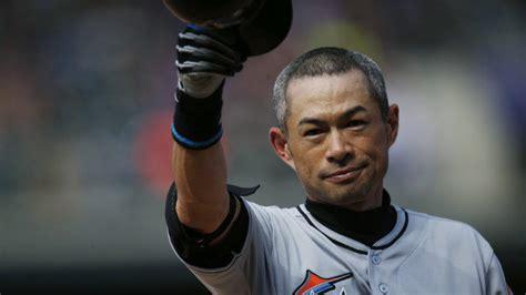Ichiro Suzuki Ichiro Suzuki Triples The Wall For His 3 000th Mlb