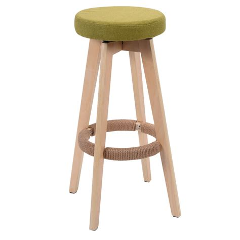 High Wooden Bar Stools by Wooden Chair Linen Bar Stool Dining Counter