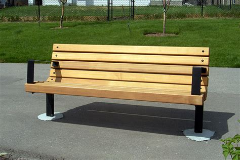 personalized park bench series b benches custom park leisure