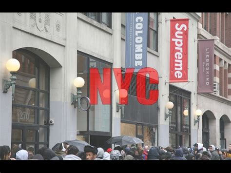 supreme nyc going to the supreme store in nyc
