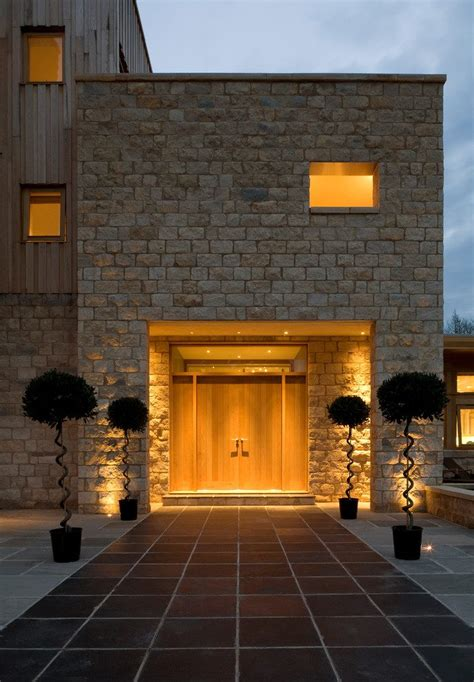 Modern Front Door Lights Entrance Lighting Ideas Entry Contemporary With Facade Outdoor Lighting Flat Roof