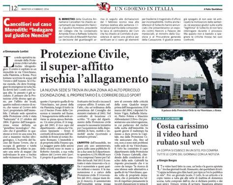 il fatto quotidiano sede protezione civile fatto quotidiano quot la sede di roma a