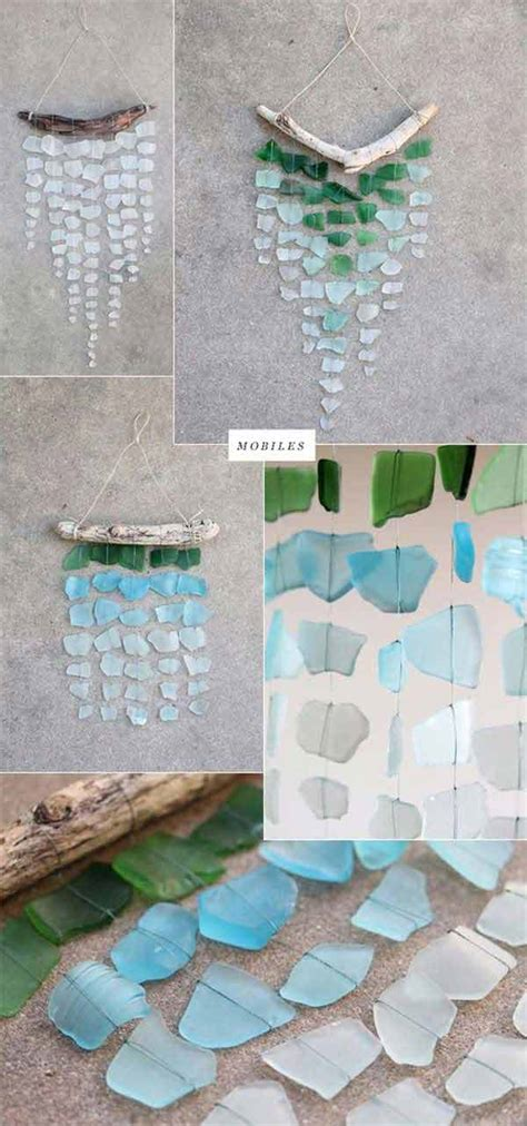 Sea Glass Home Decor by 24 Cute Diy Home Decor Ideas With Colored Glass And Sea