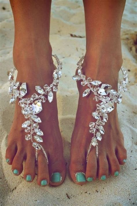 wedding barefoot sandals ethnic collection of wedding barefoot sandal