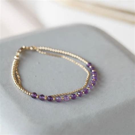 boho gemstone friendship bracelets with meaning by sugar