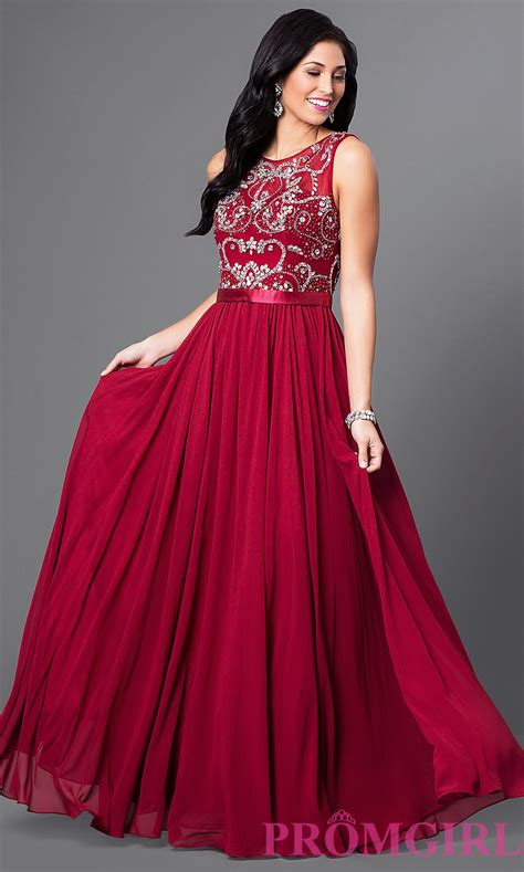 Sleeveless Evening Gown sleeveless prom dress jeweled evening gown