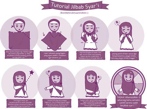 Fashion Syari Segi Empat Bhp 12 cara jilbab kerudung segi empat baju muslim anak