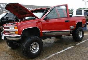 lifted 1999 chevy silverado 2500 4x4 truck