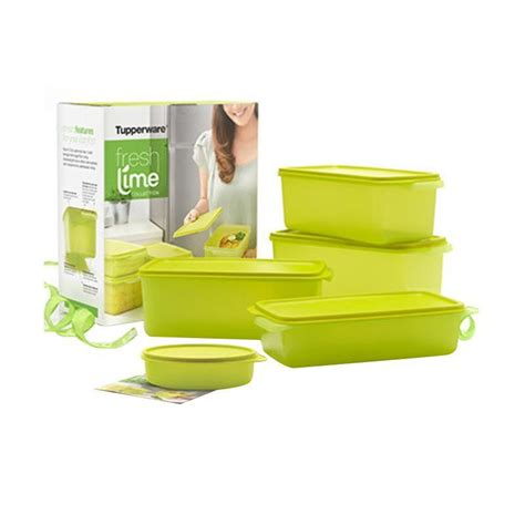 Sale Tupperware Fresh Lime Collection jual daily deals tupperware fresh lime collection set