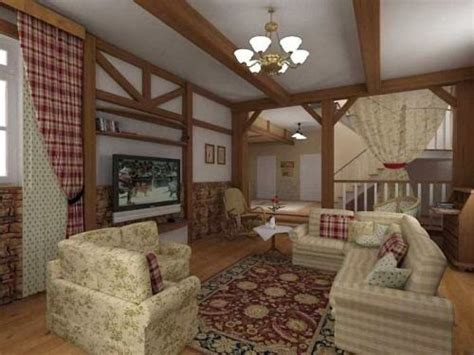 country cottage living country house and cottage living room style ideas