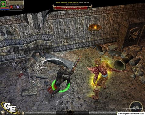 dungeon siege 2 dungeon siege ii review gamingexcellence