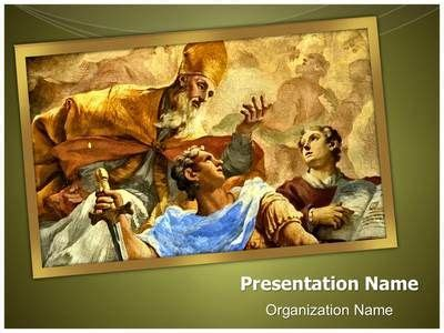 17 Best Images About Religious Ppt And Spiritual Powerpoint Templates On Pinterest Christ Renaissance Powerpoint Template