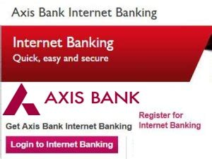 axis bank netbanking mobile banking for