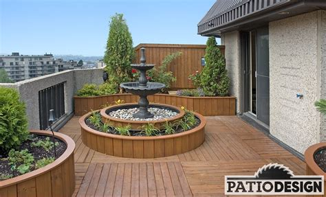 Terrasse Patio by Patio Design Construction Design De Patios Sur Le Toit