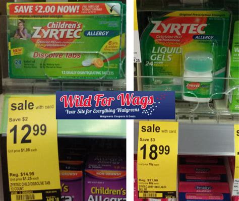 zyrtec printable coupon july 2015 zyrtec deals as low as 6 24 each
