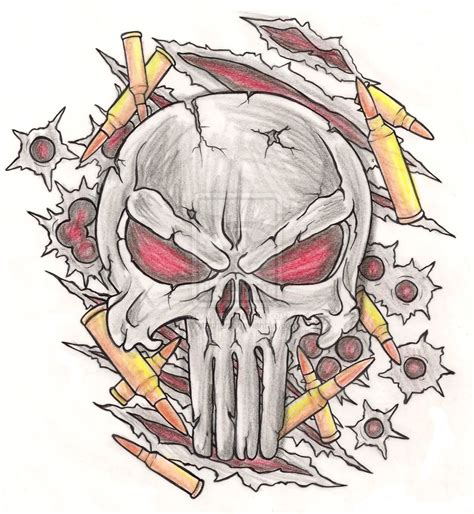 punisher skull tattoo punisher tribal www imgkid the image kid