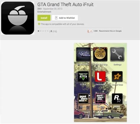 gta 5 app for android free gta v ifruit app prompts android warning phonesreviews uk mobiles apps networks