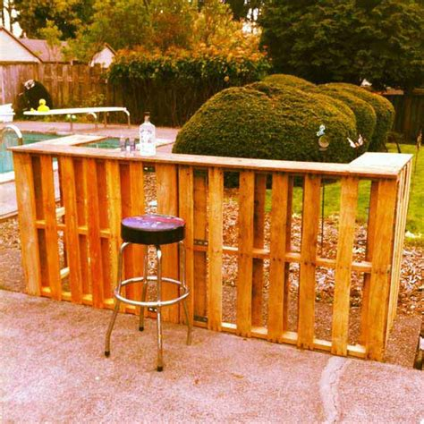 build a backyard bar 26 creative and low budget diy outdoor bar ideas amazing