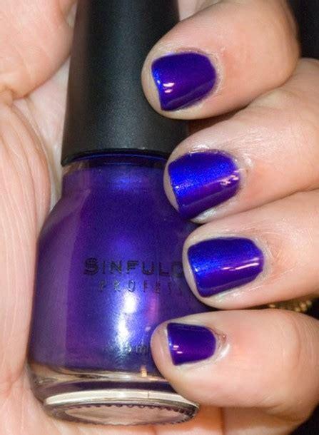 most popular purple gel nail color nail polish blue sinfull colors blue nail polish