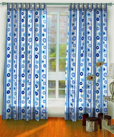 Blue And White Curtains Furniture Ideas Deltaangelgroup