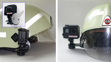 Kamera Sony Gopro feuerwehrhelm schubert kamera montage sony gopro rosenbauer