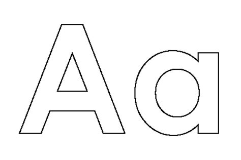 ABC Coloring Pages  GetColoringPagescom sketch template