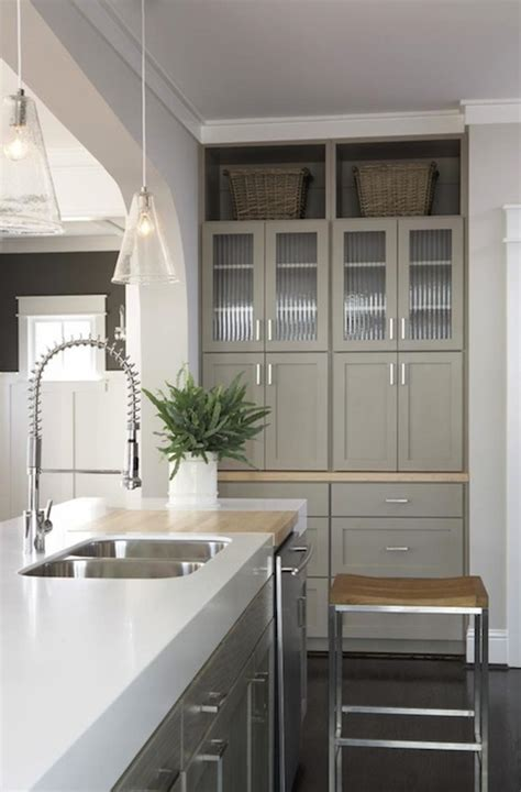 modern gray kitchen cabinets taupe kitchen cabinets contemporary kitchen sherwin