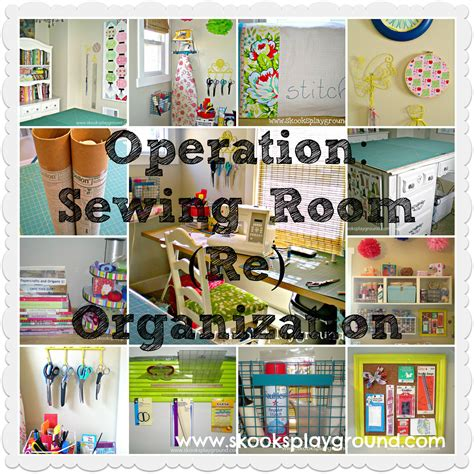 how to organize a sewing room skooks playground operation sewing room re organization