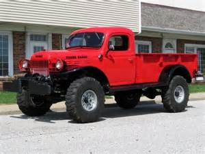 46 Dodge Power Wagon 1946 Dodge Power Wagon Transportation Land Water Air