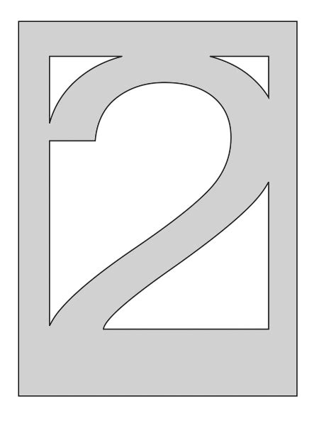 Number 2 Cake Template by Best Photos Of Number Two Template Number 2 Cake