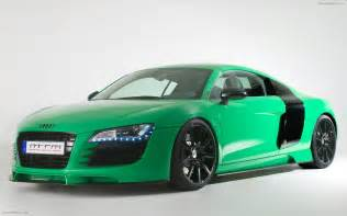 2009 mtm audi r8 in porsche green widescreen car