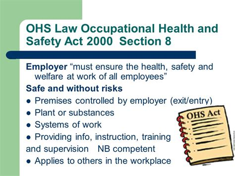 section 8 lawyer health and safety at work act sections 28 images