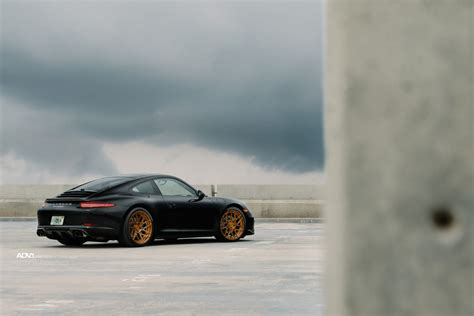 porsche 911 modified black porsche 911 with adv7r mv 2 cs series wheels
