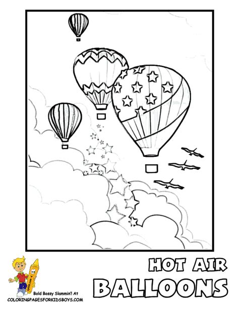 balloons coloring pages preschool hot air balloon coloring pages free printable az