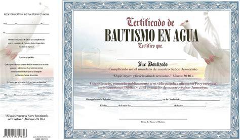certificado de bautismo template certificado de bautismo template gratis certificado de