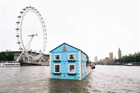 thames floating house now you can spend a night in this floating house in river