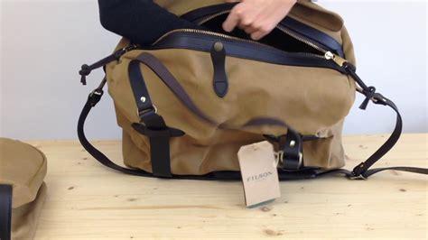 filson carry  duffle bag medium youtube