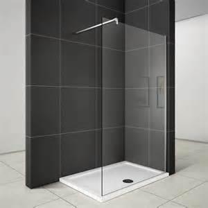 walk in duschabtrennung duschwand 8mm nano glas 120x200cm